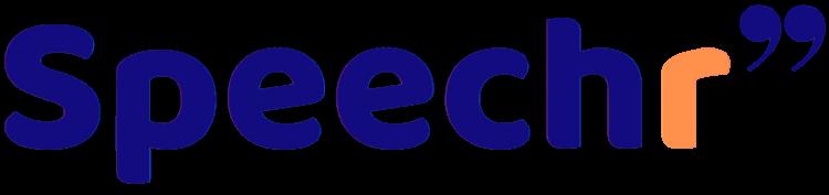 logo speechr