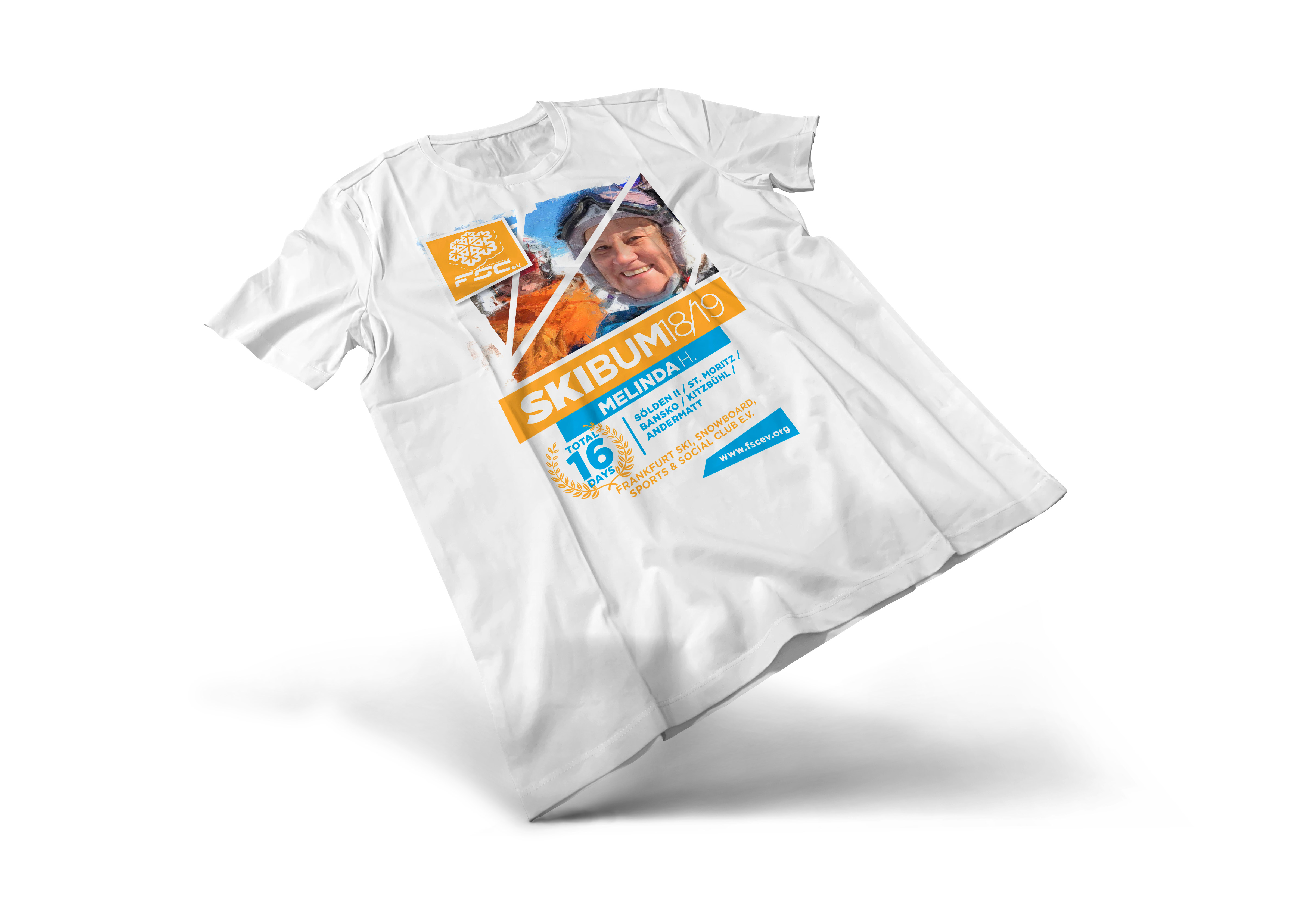 A FSC ski bum t-shirt.