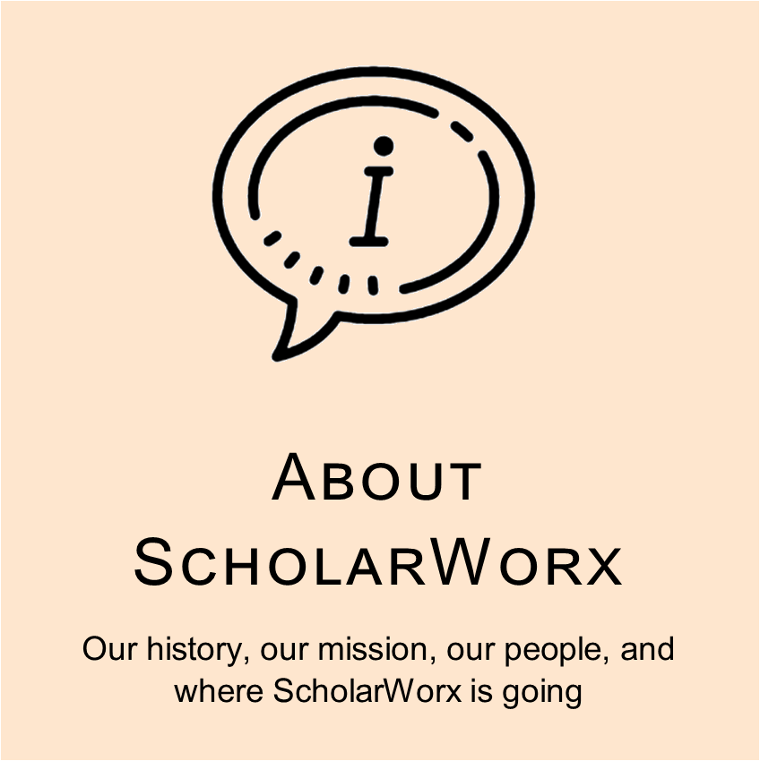 Tile to About ScholarWorx page