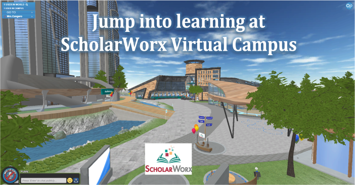 Overview image of ScholarWorx campus.