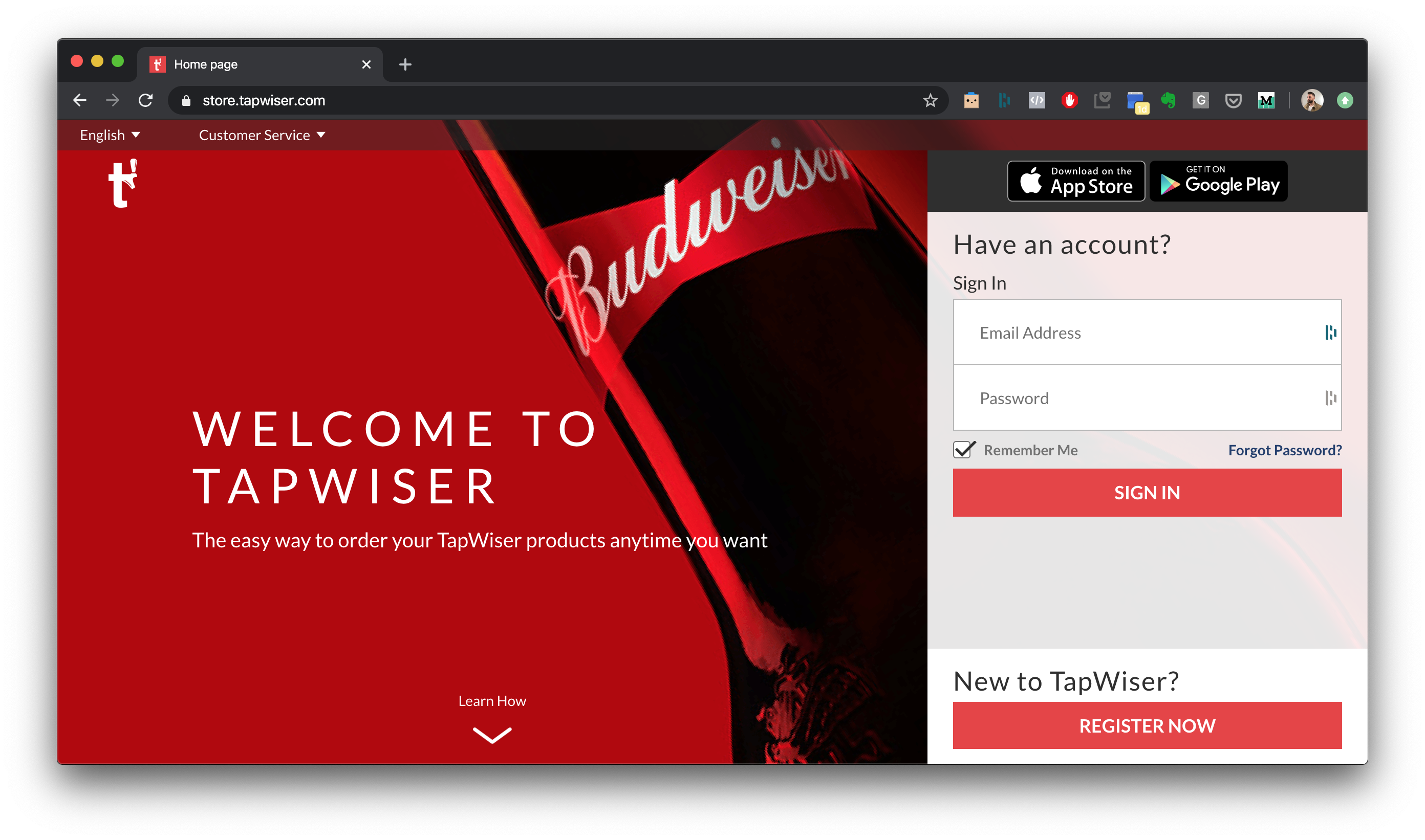 Tapwiser for ABInbev