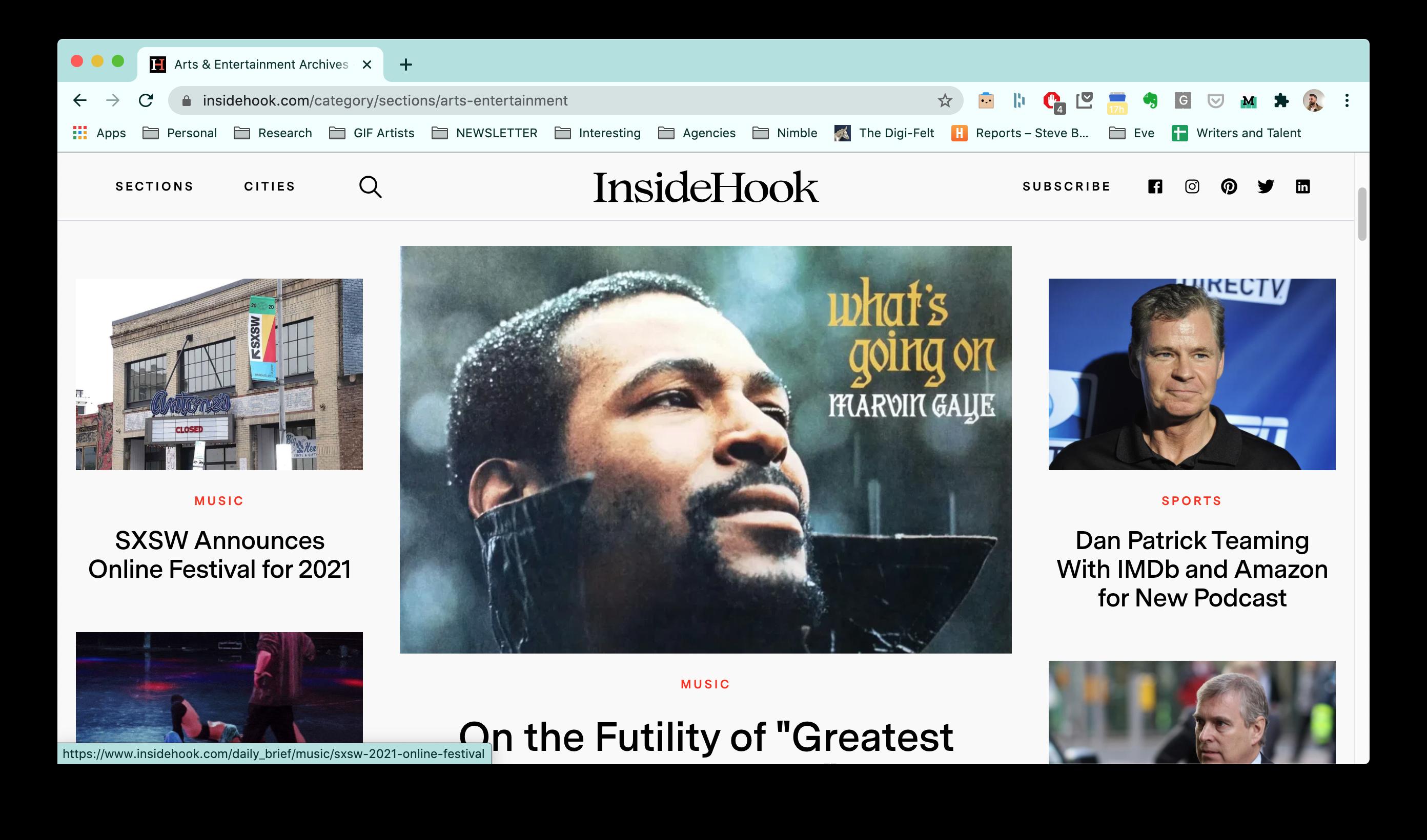 InsideHook Steve Bryant founding editor