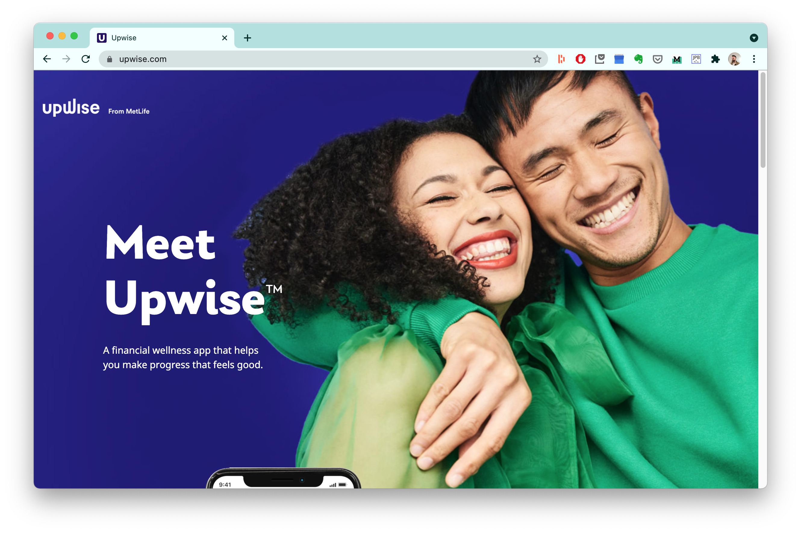 Upwise financial wellness by MetLife