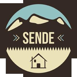 a logo of Sende
