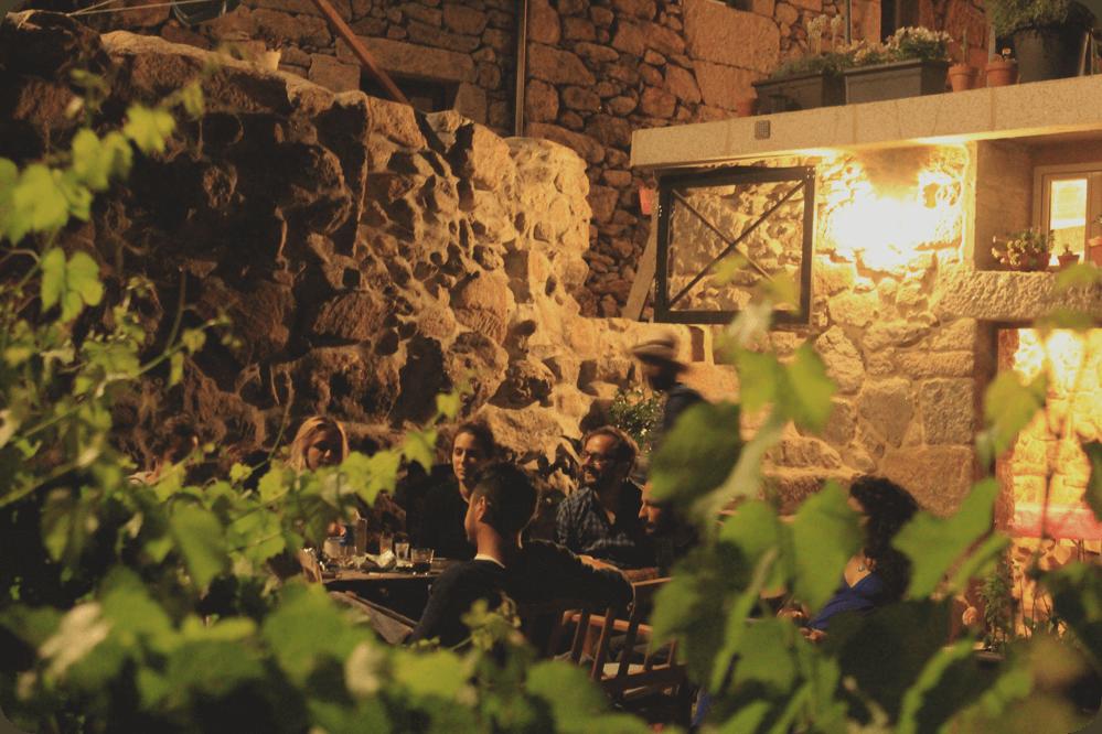 Dinners in the garden