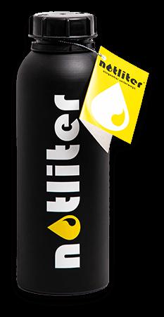 Bild zeigt notliter Flasche