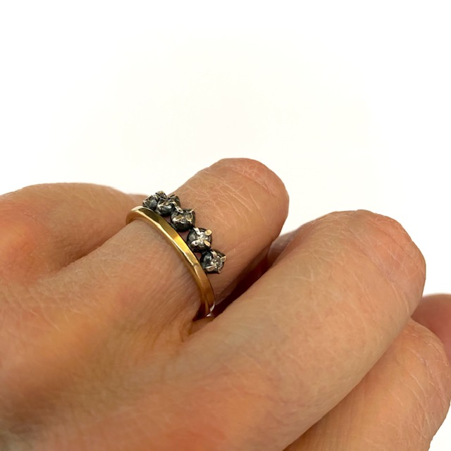 Rusty Thought ring