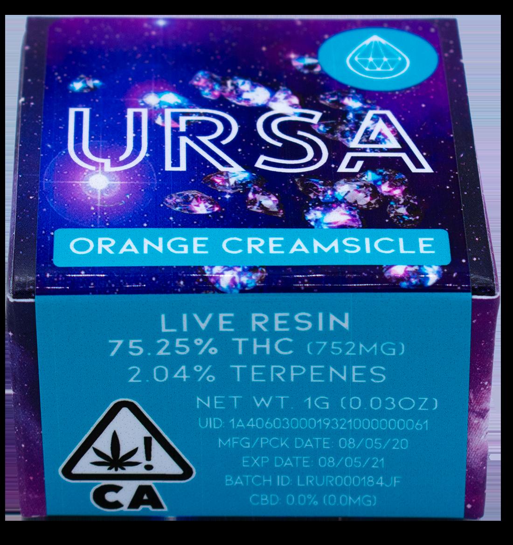 URSA Blue Live Resin Box