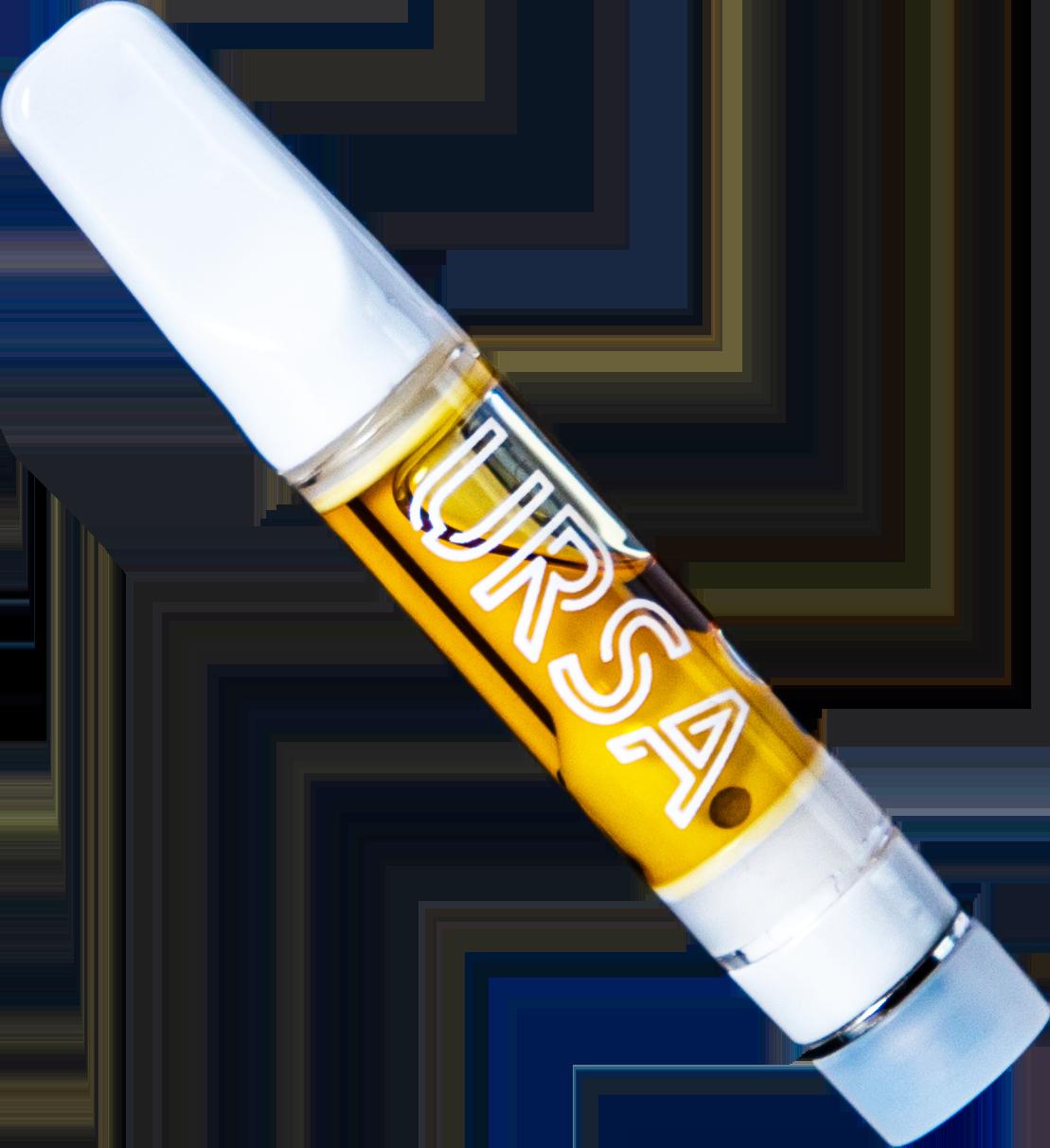 URSA Liquid Diamond Sauce Cartridge - the first 100% Live Resin Cartridge in california that is distillate-free
