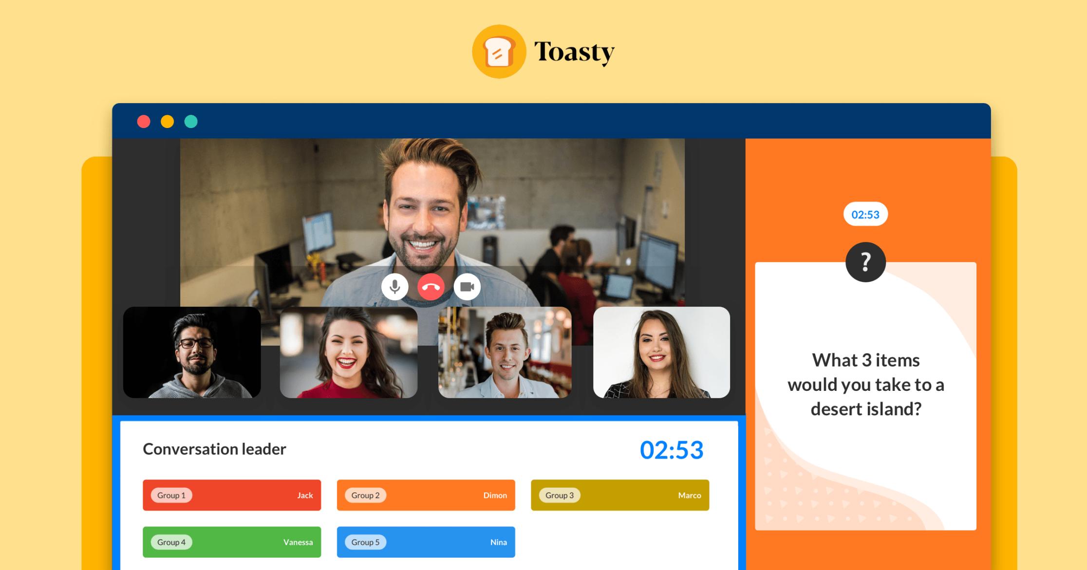 Toasty.ai Screenshot