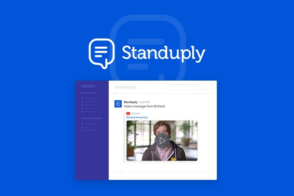 A screengrab of Standup.ly