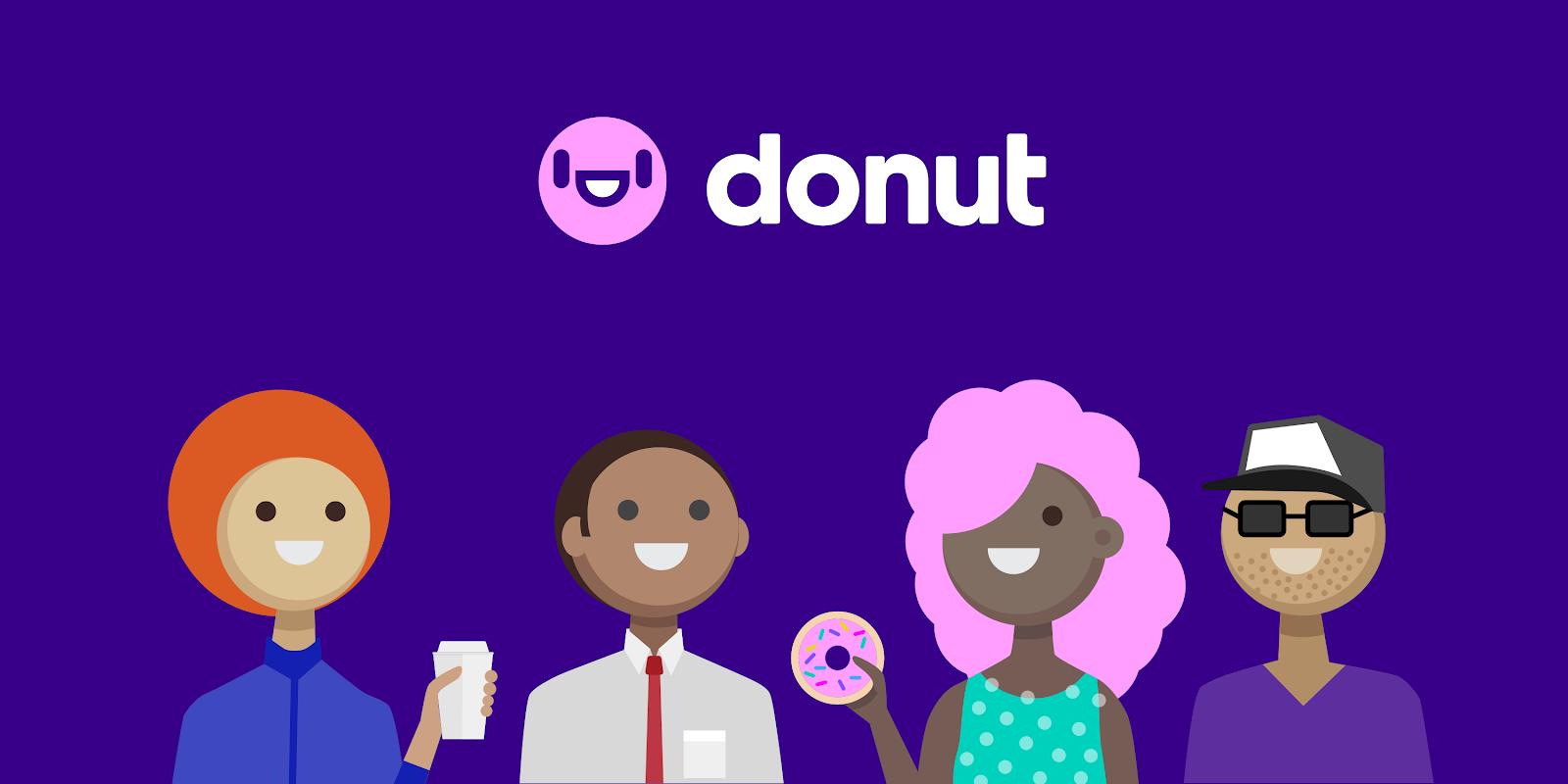 A screengrab of Donut