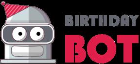A screen grab of Birthday Bot