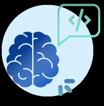 Icon of brain