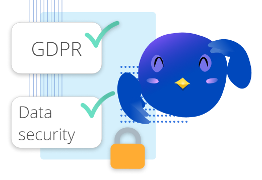 Icon of Mamo being GDPR compliant