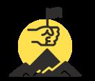Determination icon