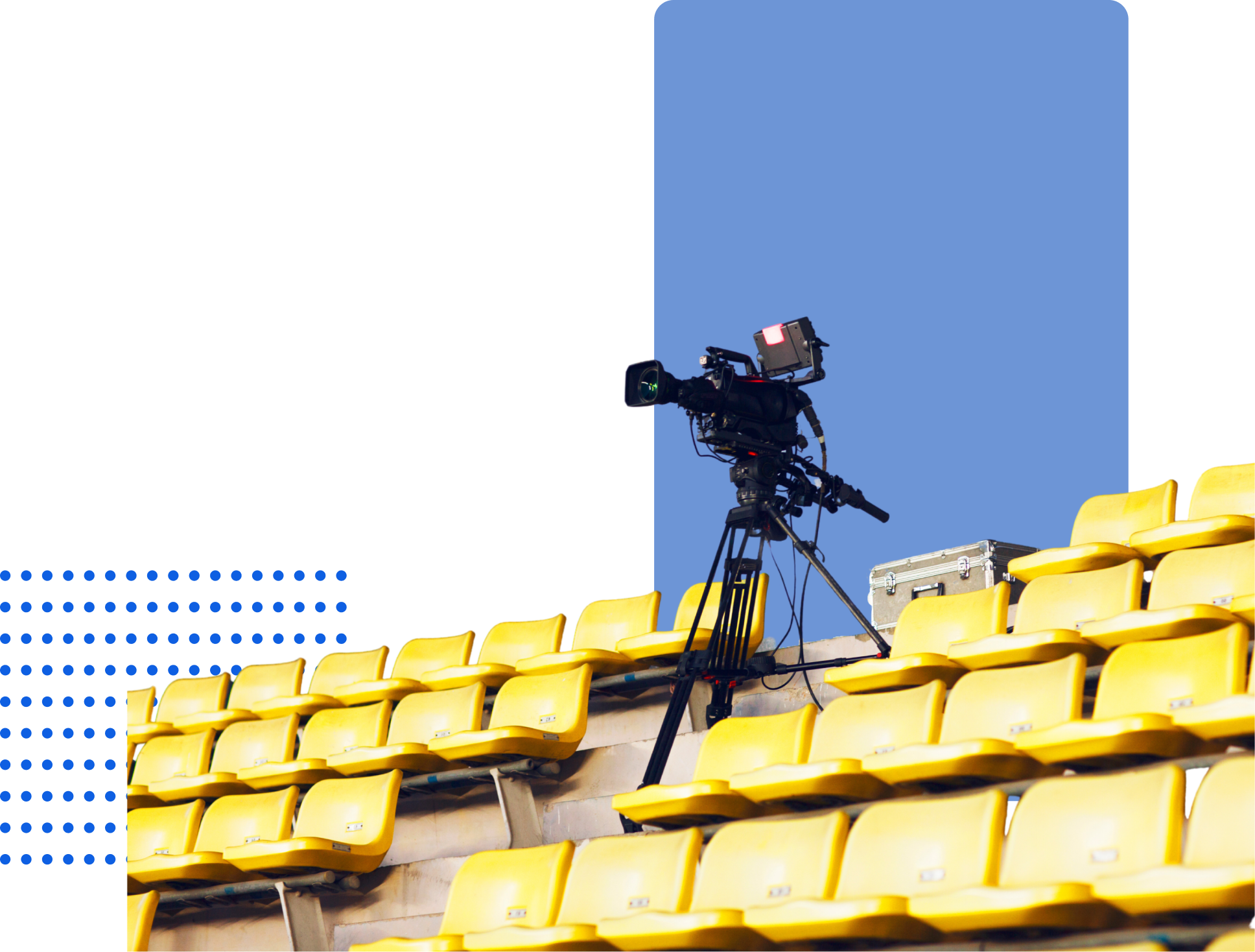 Image of professional video camera
