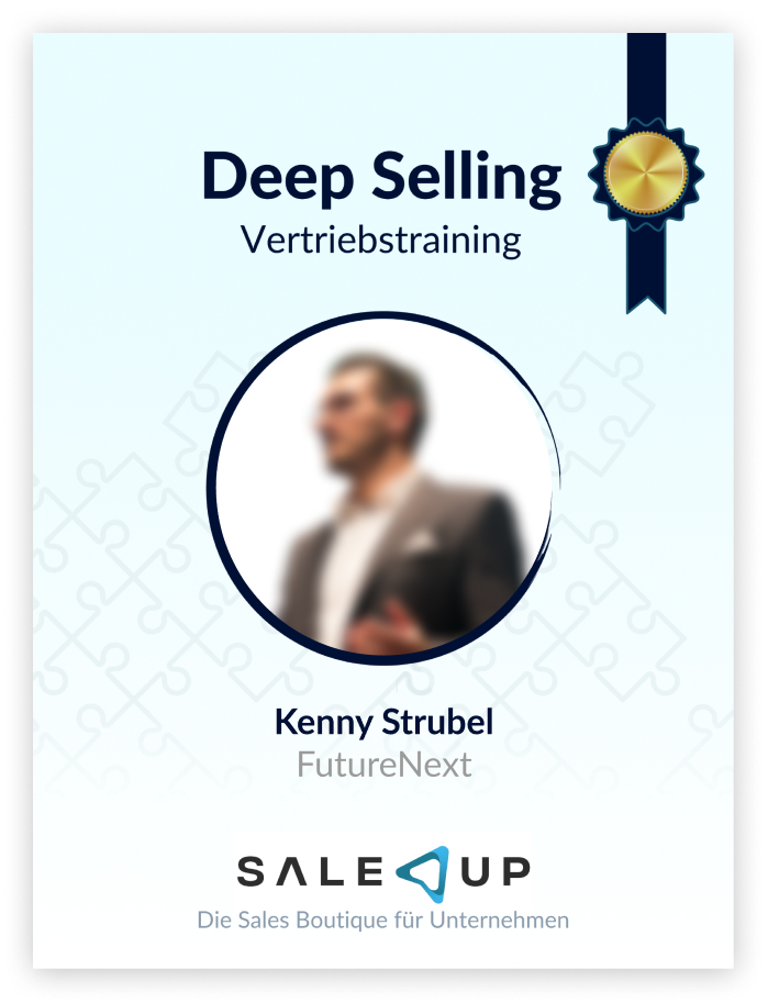 Badge of Deep Selling course