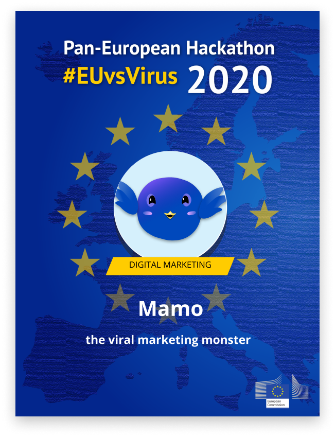 Badge of EUvsVirus