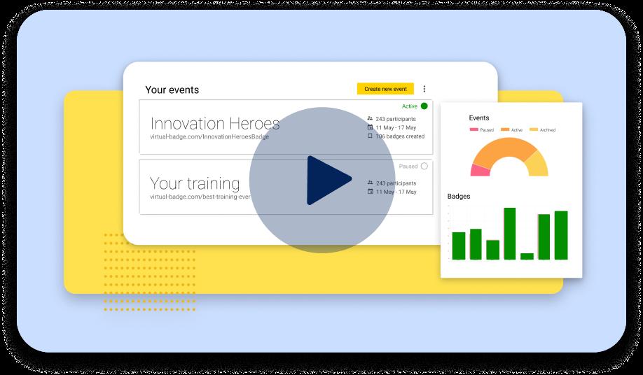 VirtualBadge explainer video