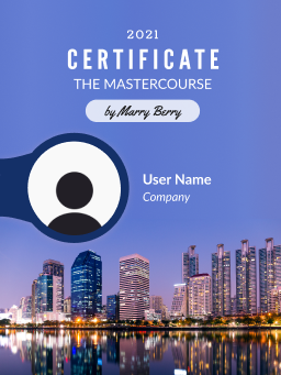 digital certificate free template for word