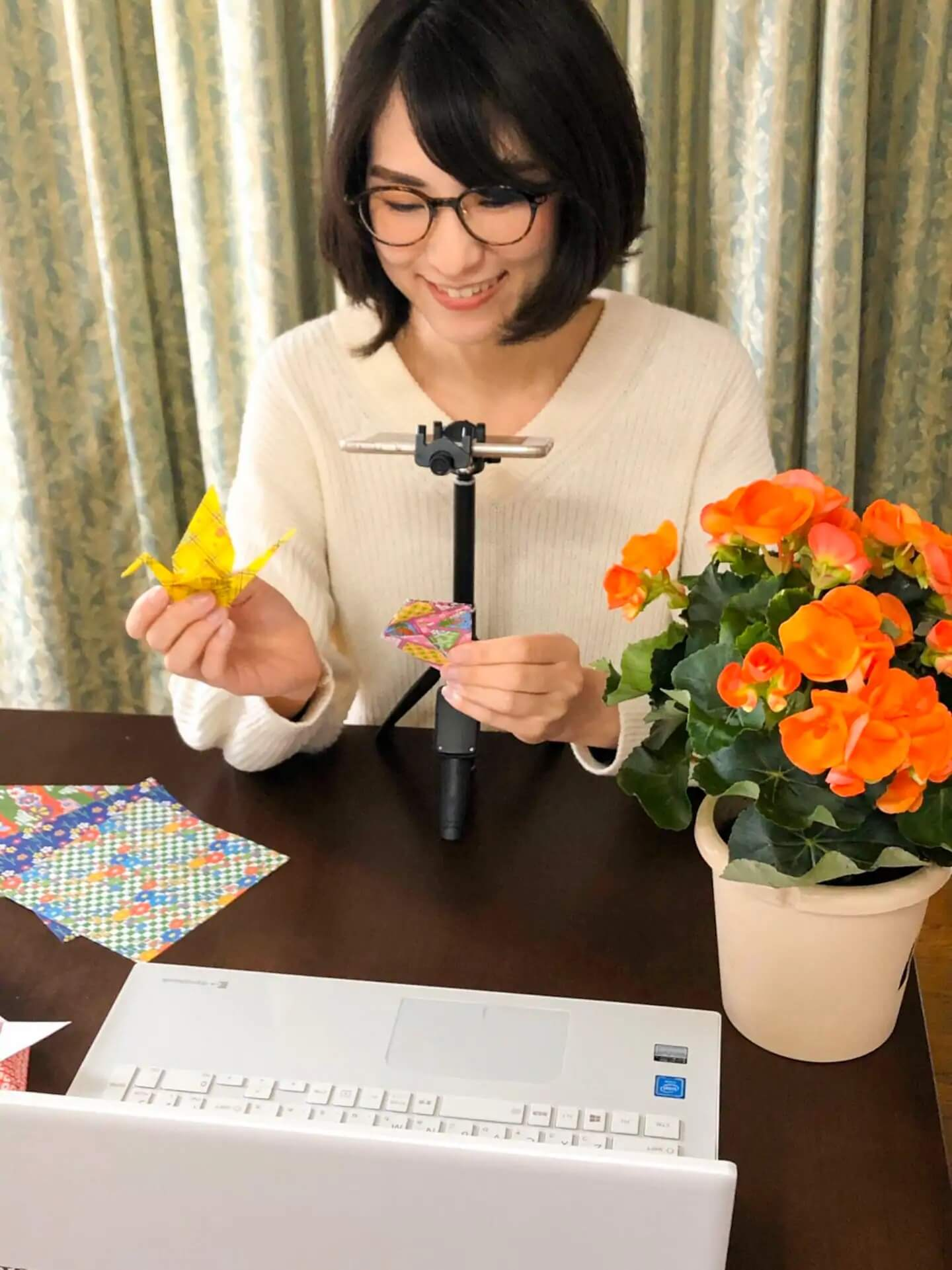 Enjoy ORIGAMI with a Tokyo local