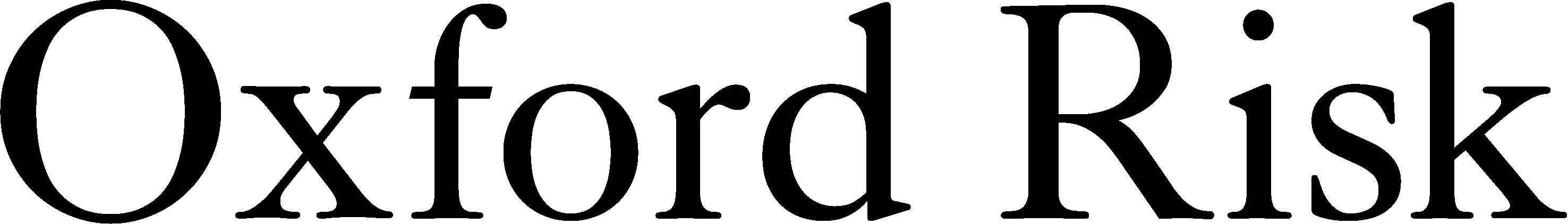 Oxford Risk logo