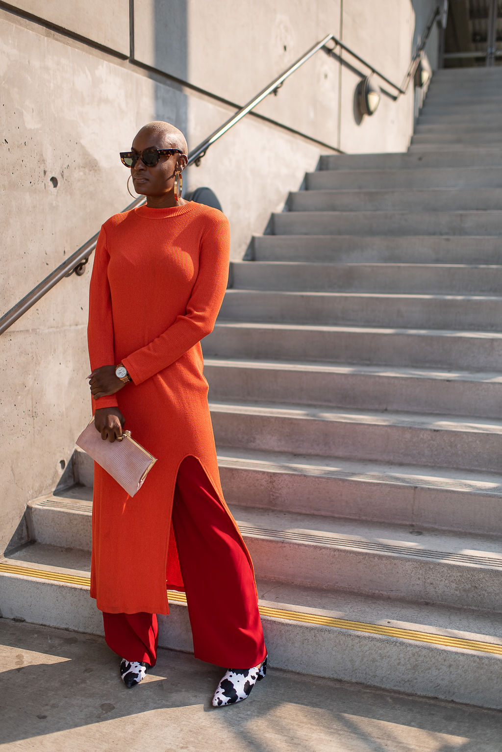 How Color Blocking & Layering Can Spice Up Your Fall Wardrobe