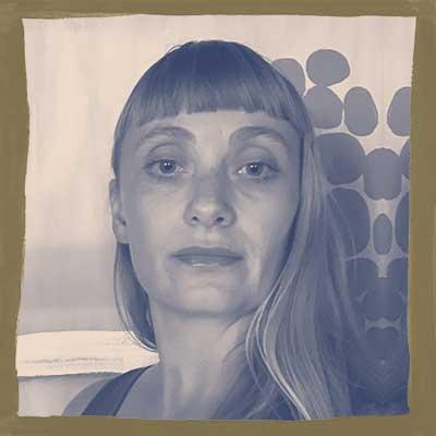 Stylized headshot of Bess Murphy
