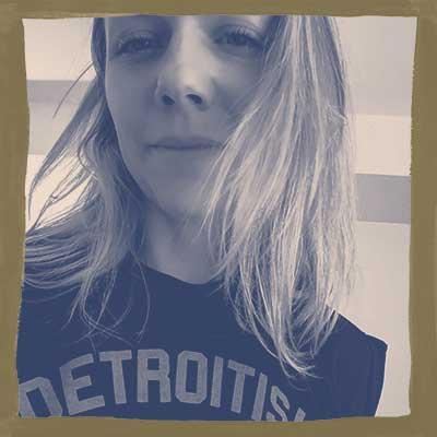 Stylized headshot of Kerri Schlottman