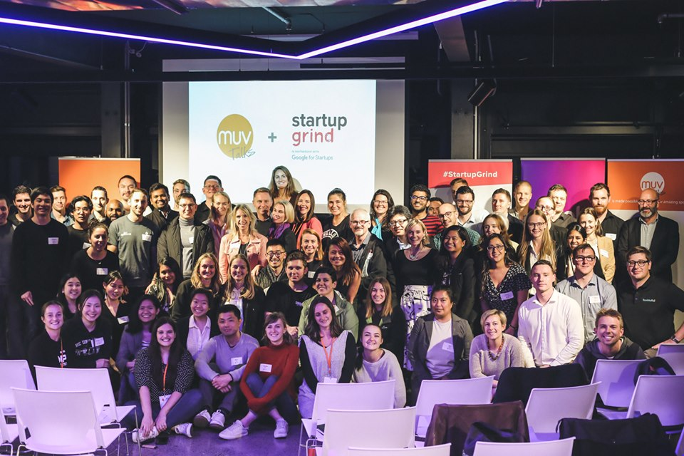 Pauli's community at the MUV Talks + Startup Grind event during Tech Week 2019