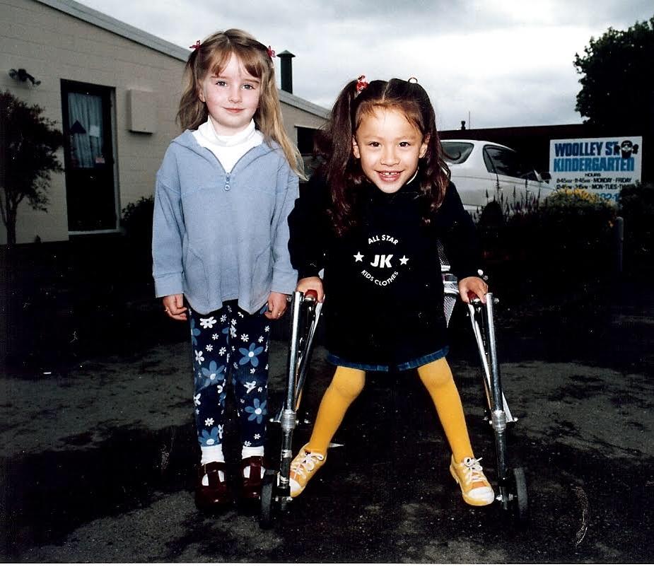Charlotte as a kid