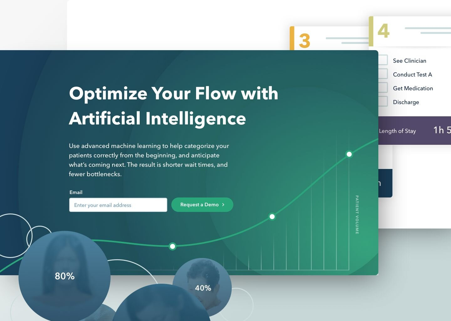 "Vital design by Jade, title reads: ""Optimize Your Flow with Artificial Intelligence�"
