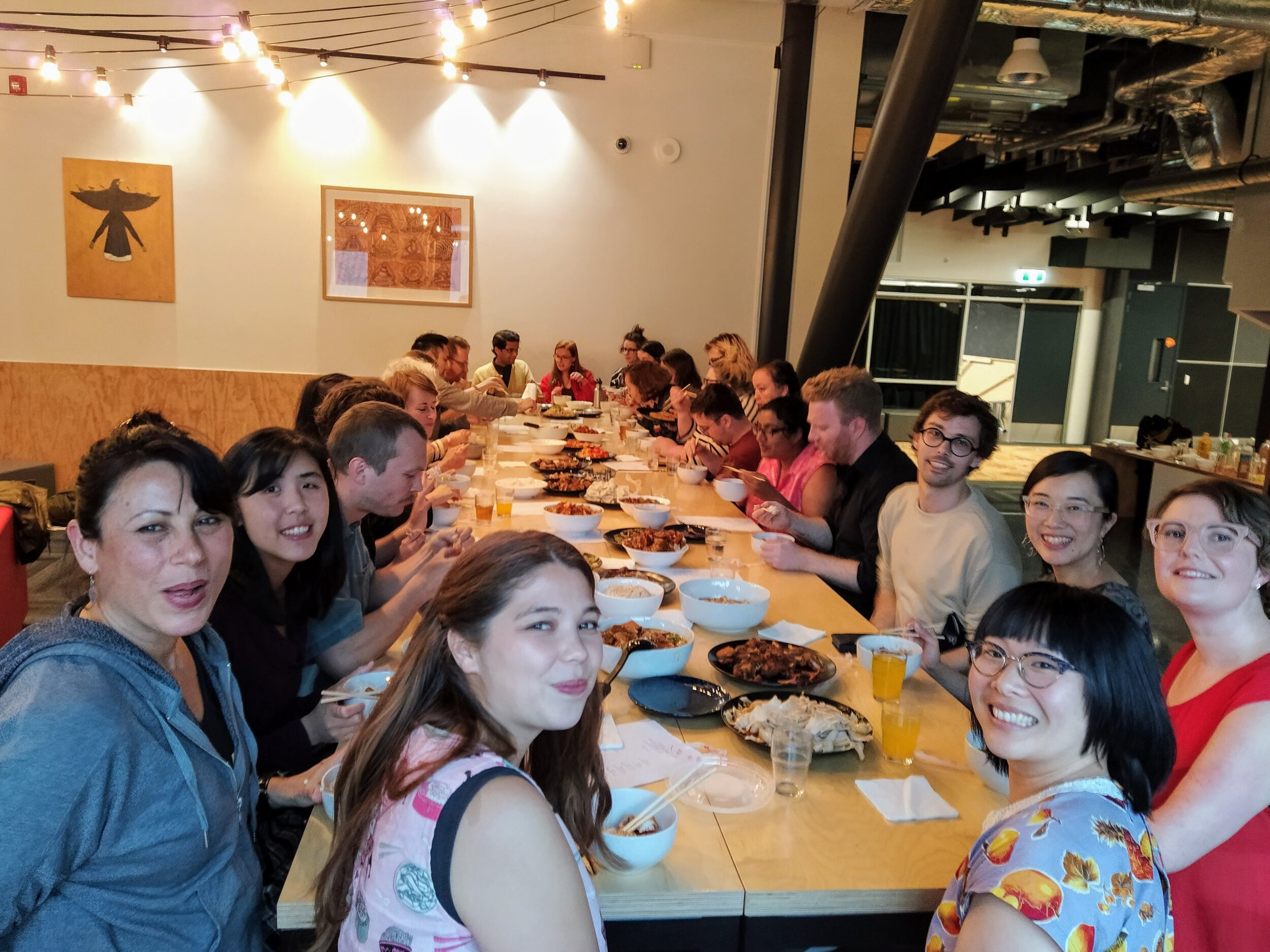 Rose Lu and poet Nina Mingya Powles host a shared dinner event for Verb Wellington