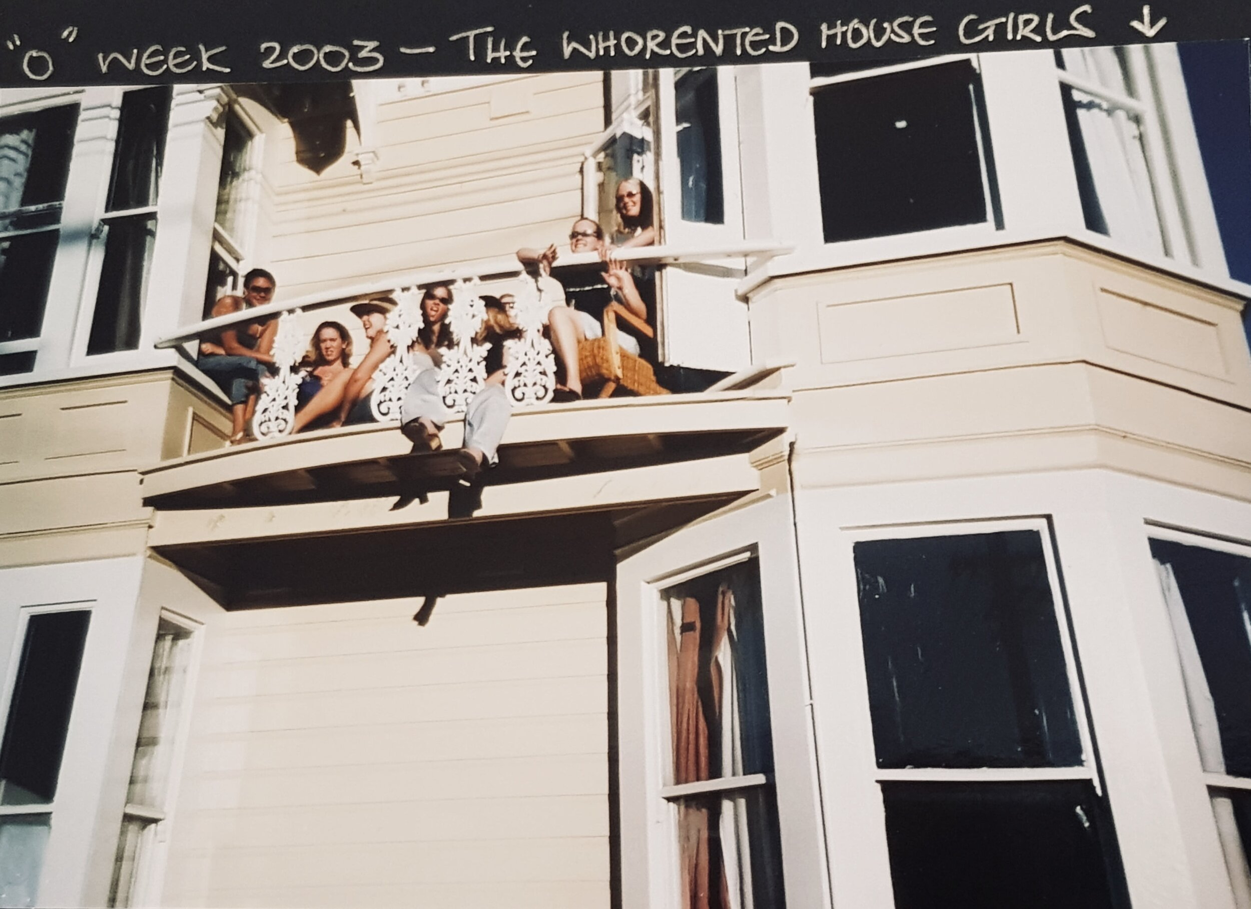 "The Haunted ""Whorented� House that Lil describes living in during second year at Otago (chapter 5 of her book)"
