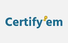 Certify'em