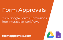 Form Approvals