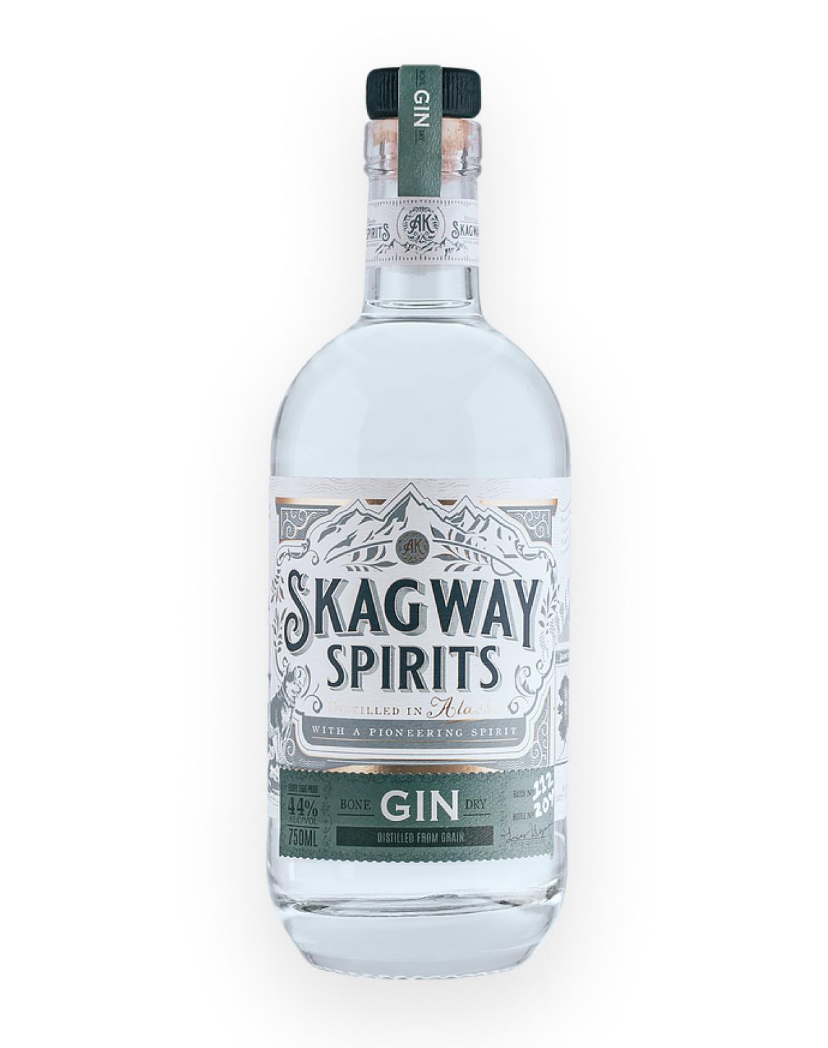 A beautiful bottle of Bone Dry Gin