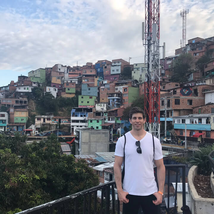 Robbie Crabtree in Colombia 2