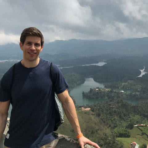 Robbie Crabtree in Colombia