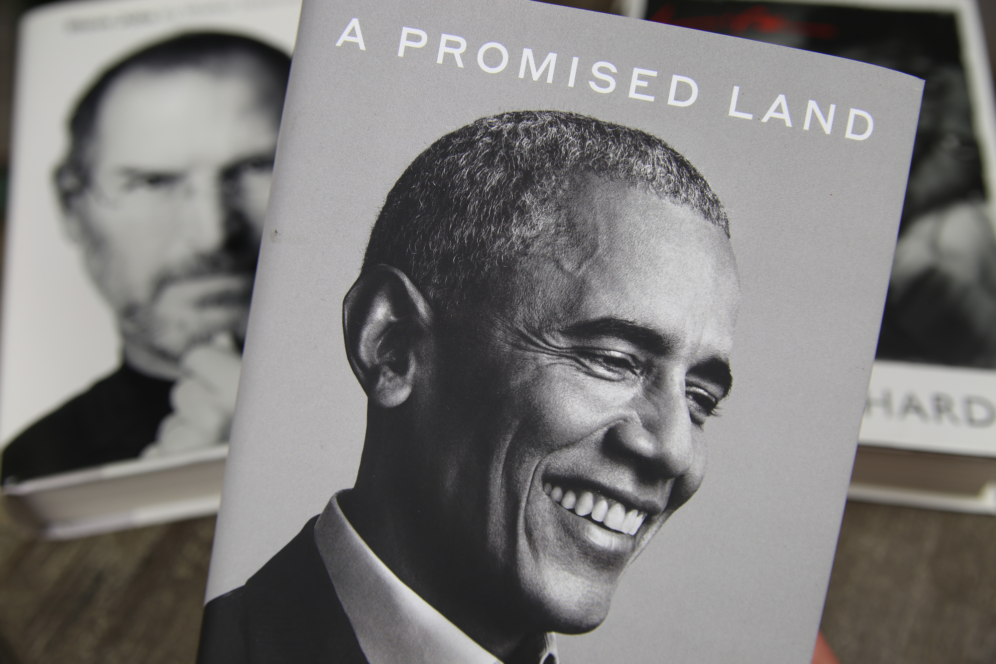 Book cover of A Promised Land by Barack Obama