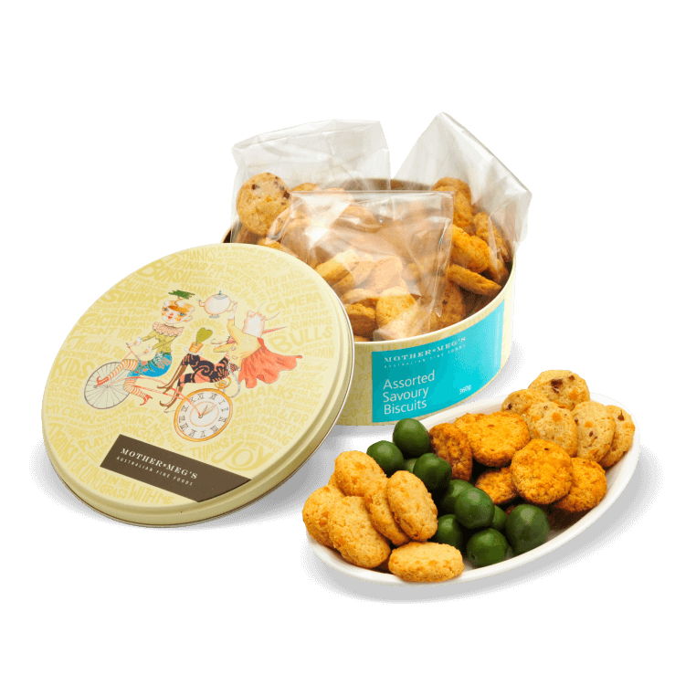 Assorted Savoury Biscuit Tin