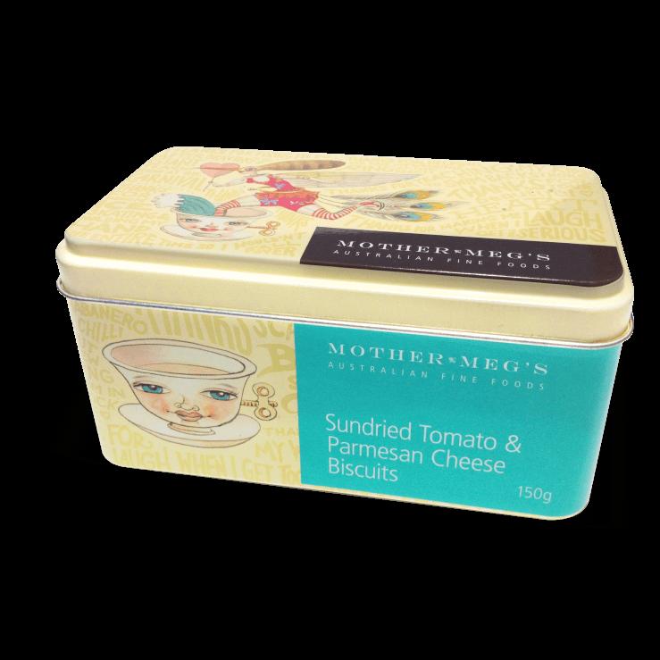 Sundried Tomato & Parmesan Gift Tin