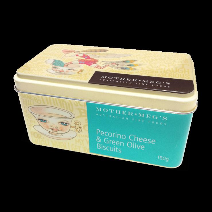 Pecorino Cheese & Green Olive Gift Tin