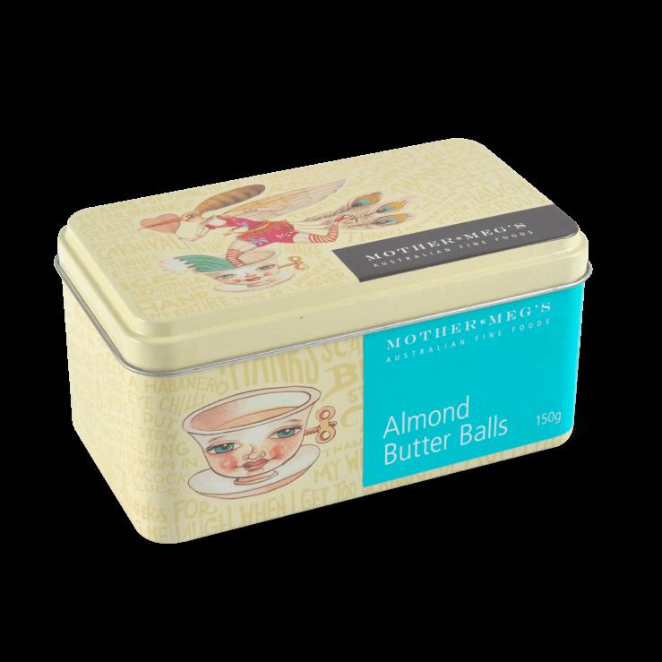Almond Butter Balls Gift Tin