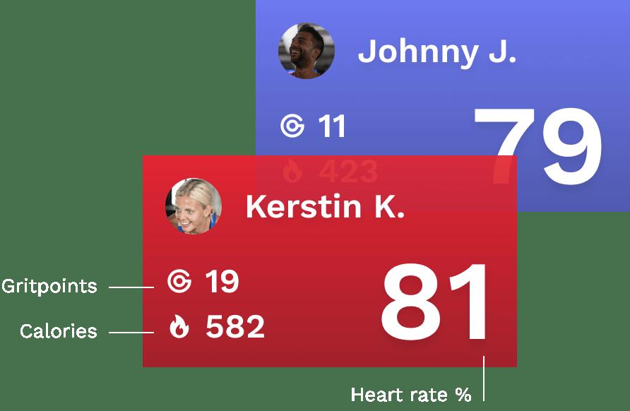 BEAT81 workout data