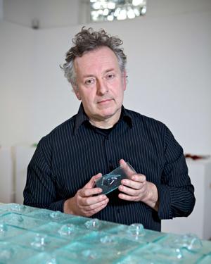 Glass artist Matt Durran