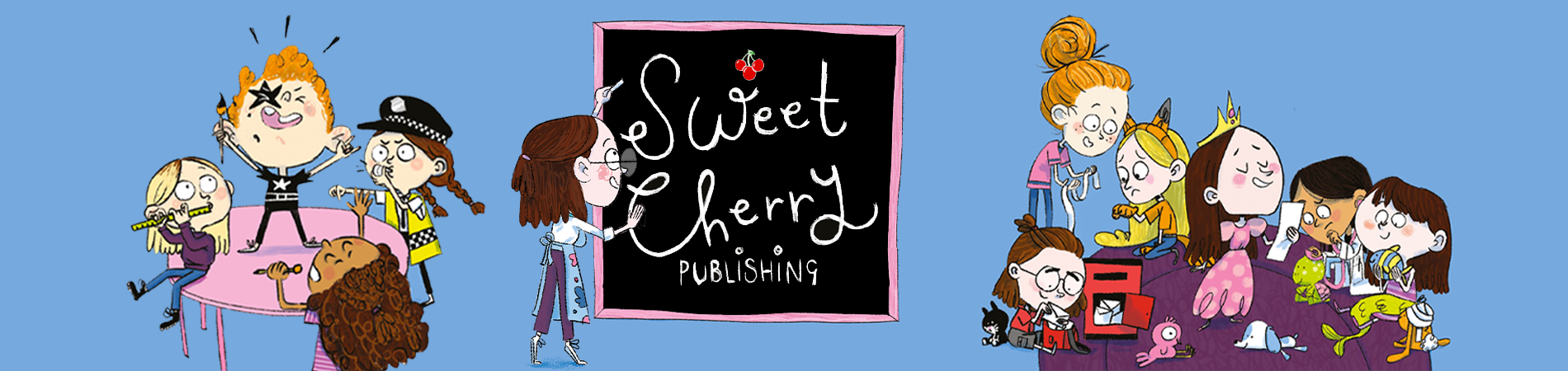CASE: Sweet Cherry Publishing in China