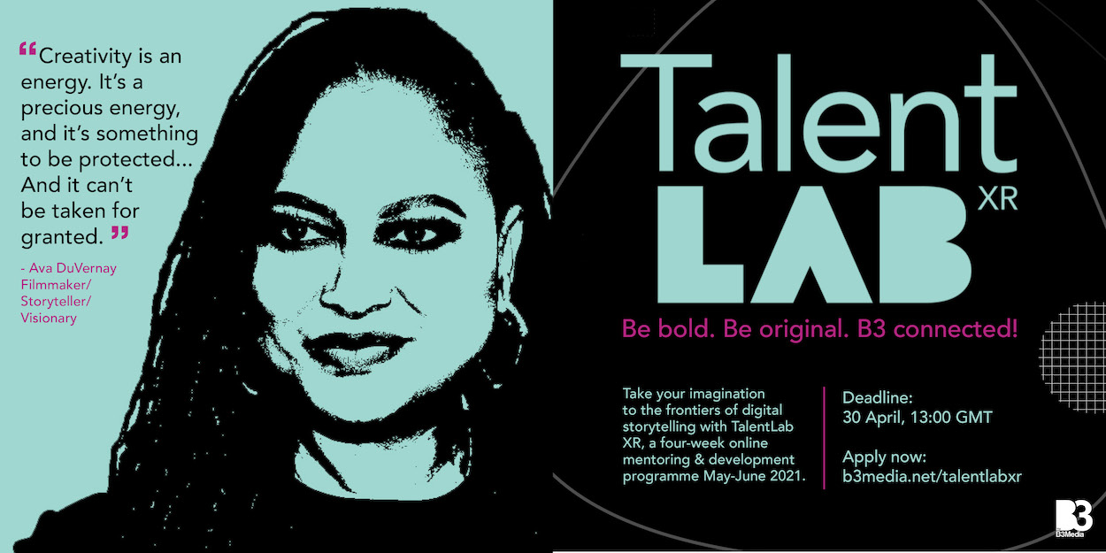 TalentLab programme aims to bring more diverse voices into extended reality