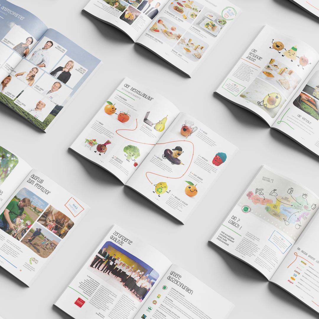 MAX4Kids Schulcatering Rebranding Gemuesemaxl Image Folder